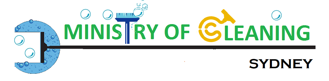 Ministry Of Cleaning Logo