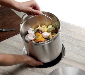 kitchen organic bin